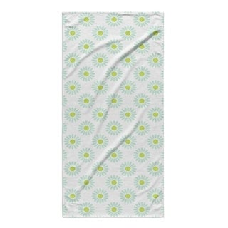 Kavka Designs Green/Blue Izzy Beach Towel