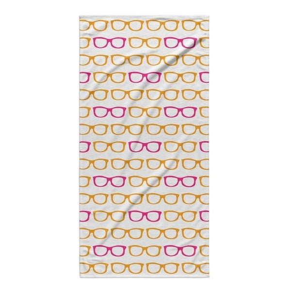 Kavka Designs Orange/Pink Sunshine Beach Towel