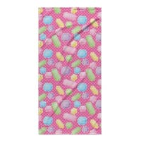 Kavka Designs Pink/Blue/Green/Purple Gems Beach Towel