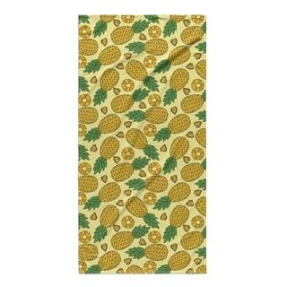 Kavka Designs Yellow Pineapple Beach Towel