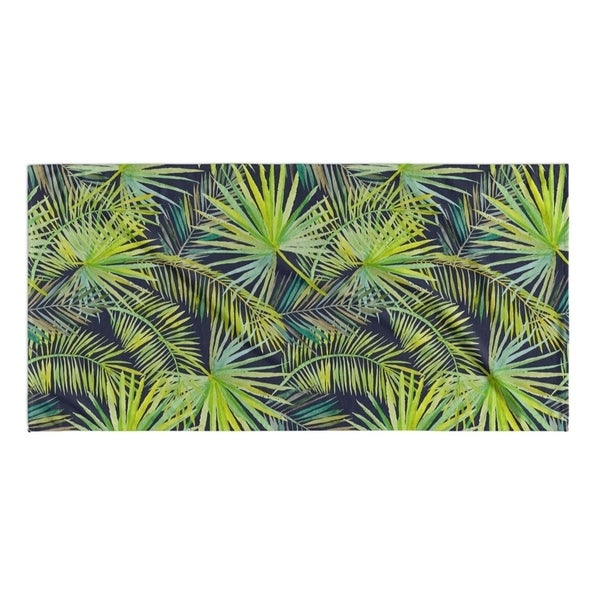 Kavka Designs Green/Blue The Palms Beach Towel