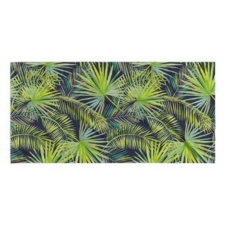Kavka Designs Green/Blue The Palms Beach Towel