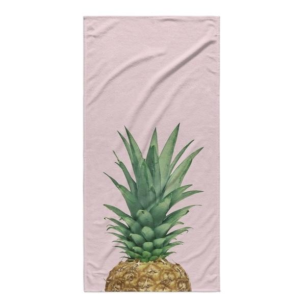 Shop Kavka Designs Pink Green Brown Tan Pineapple Top