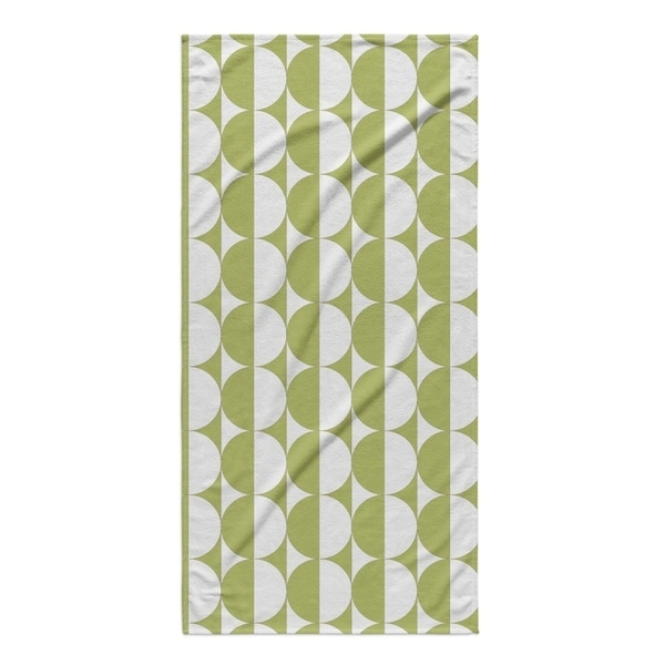 Kavka Designs Green Limesicle Beach Towel