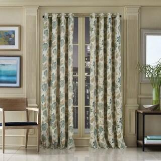 Five Queens Court Varick Blackout Grommet Curtain Panel