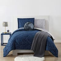 My World Night Sky Printed 3-piece Comforter Set