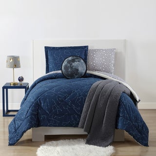 Laura Hart Kids Night Sky Printed 3-piece Comforter Set (2 options available)