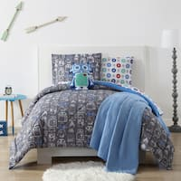 Laura Hart Kids Roboto Printed 3-piece Comforter Set