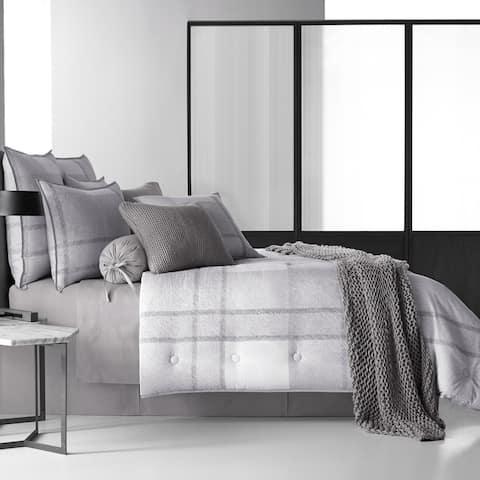 Five Queens Court Langdon Twill Cotton 4-Piece Comforter Set