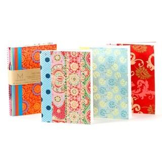 Handcrafted Ida Travel Journals - Set of 3 (India)
