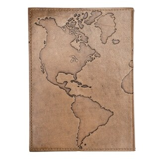 Handmade Ancient Globetrotter Leather Journal (India)
