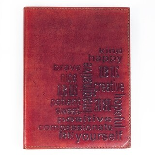 Handcrafted Be Yourself Slip-In Journal (India)