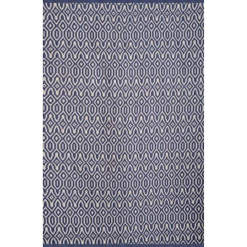 Volosa Blue/White Area Rug by Greyson Living - 5' x 8'