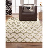 """Talula Apple Green/Ivory Area Rug by Greyson Living (5'3"""" x 7'6"""") - 5'3"""" x 7'6"""""""