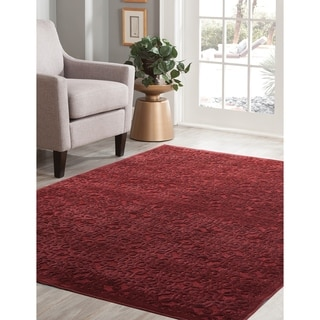 "Kira Red Area Rug by Greyson Living - 5'3"" x 7'9"""