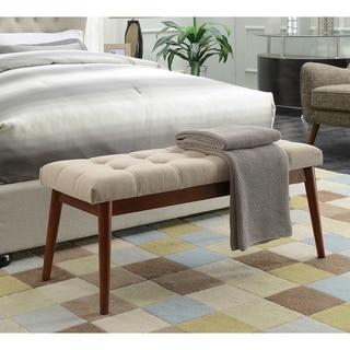 Convenience Concepts Designs4Comfort VanDyke Mid Century Bench