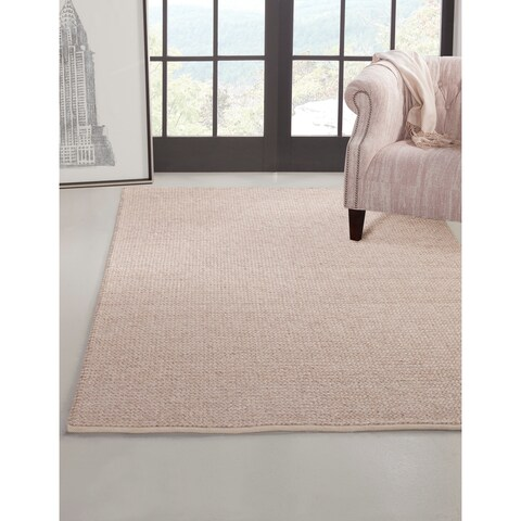 Powell Braided Natural Area Rug by Greyson Living - 8' x 10'
