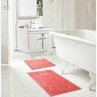 RT Designers Collection Derby Microfiber 2-Piece Bath Mat Set