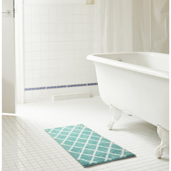 RT Designers Collection Chester Jacquard Microfiber Bath Mat