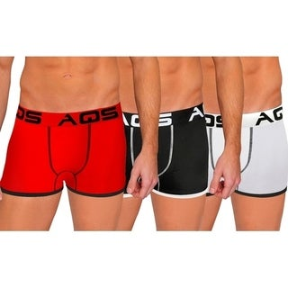 AQS Men's Fitted Boxers with Thead