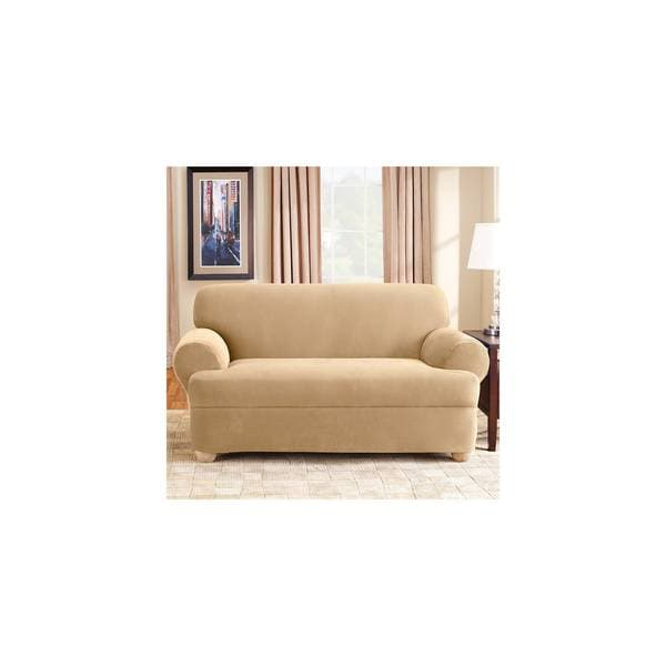 Shop Sure Fit Stretch Pique Universal T Cushion Sofa