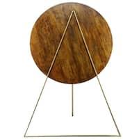 Renwil Ira Antique brass Floor Lamp