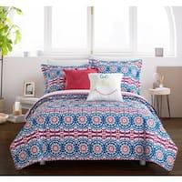 Chic Home Sachio Reversible 5-piece Quilt Set