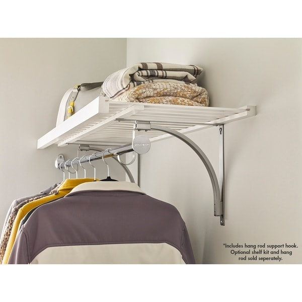 ClosetMaid Premium Shelving Hang Rod Support Hook   Free Shipping On Orders  Over $45   Overstock.com   23440931
