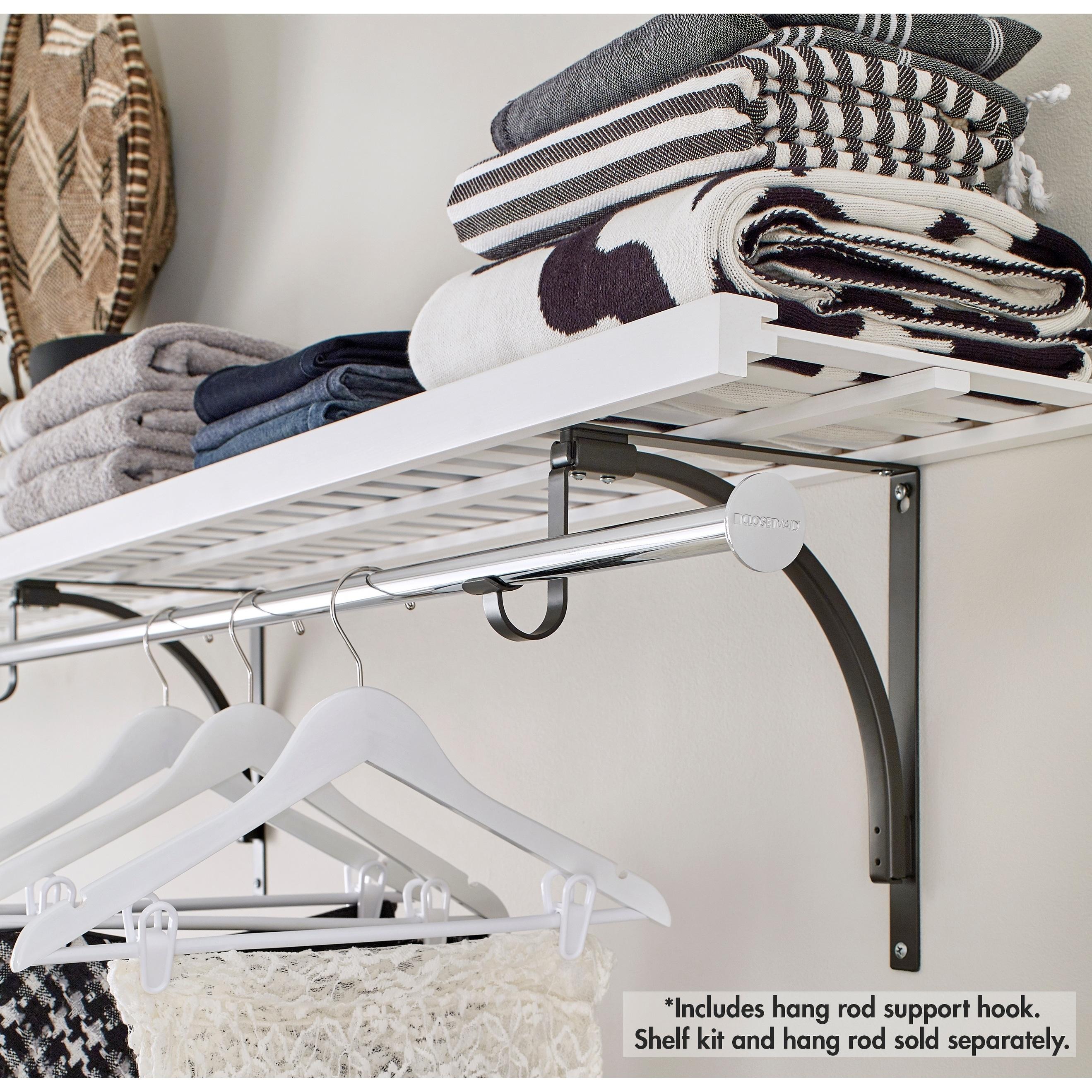 ClosetMaid Premium Shelving Hang Rod Support Hook