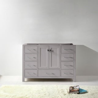 Caroline Avenue 48-in Solid Wood Cabinet Only