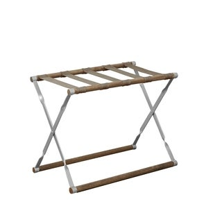 Carter Wood and Metal Folding Luggage Rack