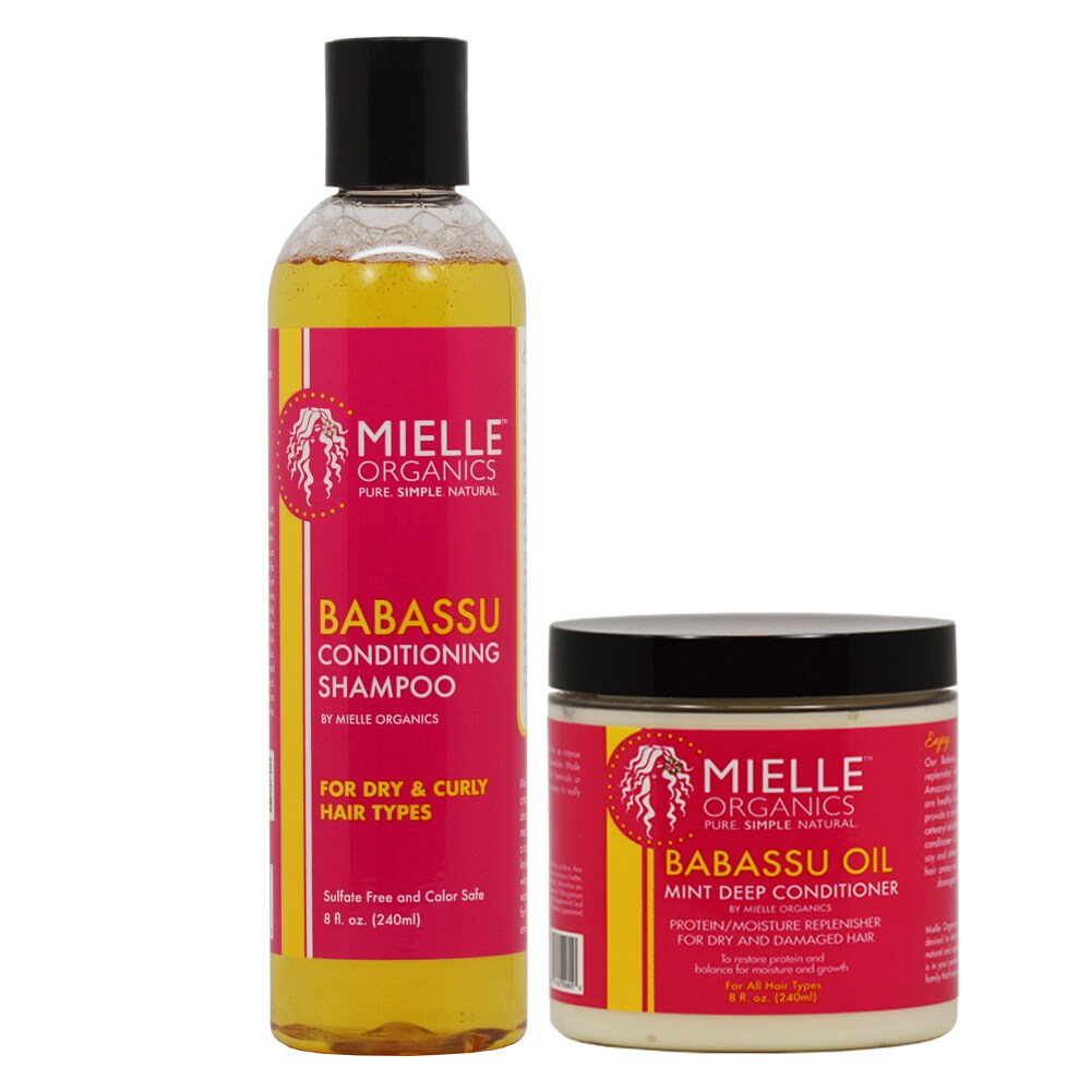 Mielle Organics Babassu 8-ounce Conditioning Shampoo & Co...