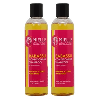 Mielle Organics Babassu 8-ounce Conditioning Shampoo (Pack of 2)