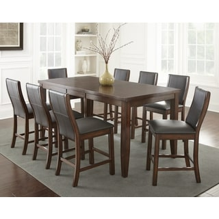 Tempe Faux Leather Counter Height Dining Set By Greyson Living