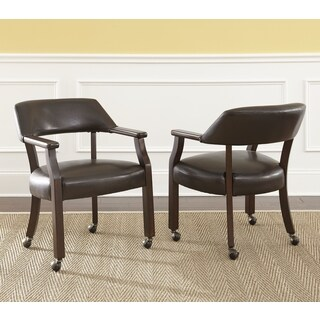 Montreal Captain's Arm Chair with Casters by Greyson Living