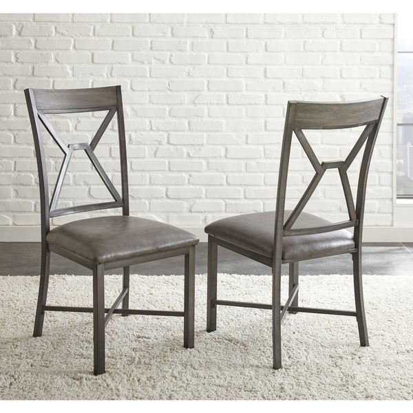 Shop Asbury Faux Leather Dining Chair (Set Of 2) By