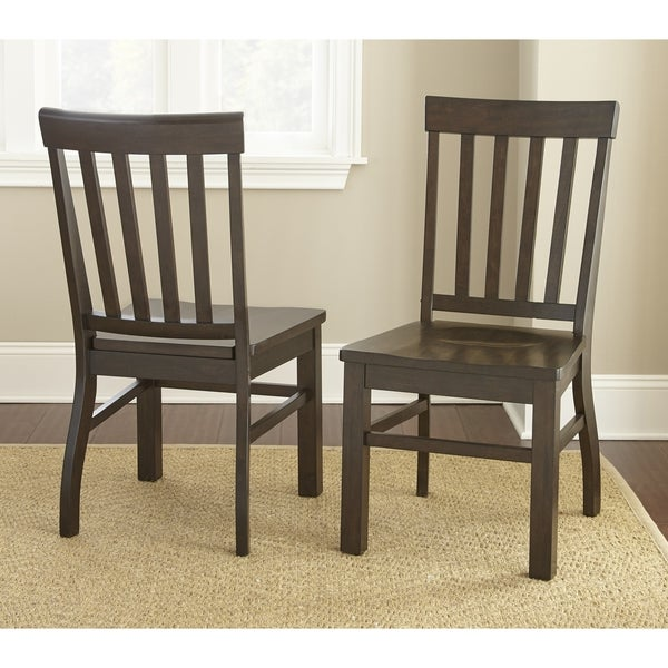 Cottonville Hardwood Farmhouse Dining Chairs Set Of 2 By Greyson Living 40 Inches High X 20 Wide 24 Deep On Free Shipping