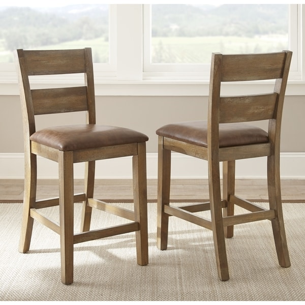 Chaffee 24 Inch Counter Height Chair (Set Of 2) By Greyson Living
