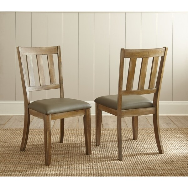 Shop Avondale Faux Leather Dining Chair (Set Of 2) By