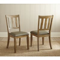 Avondale Faux Leather Dining Chair (Set of 2)  by Greyson Living