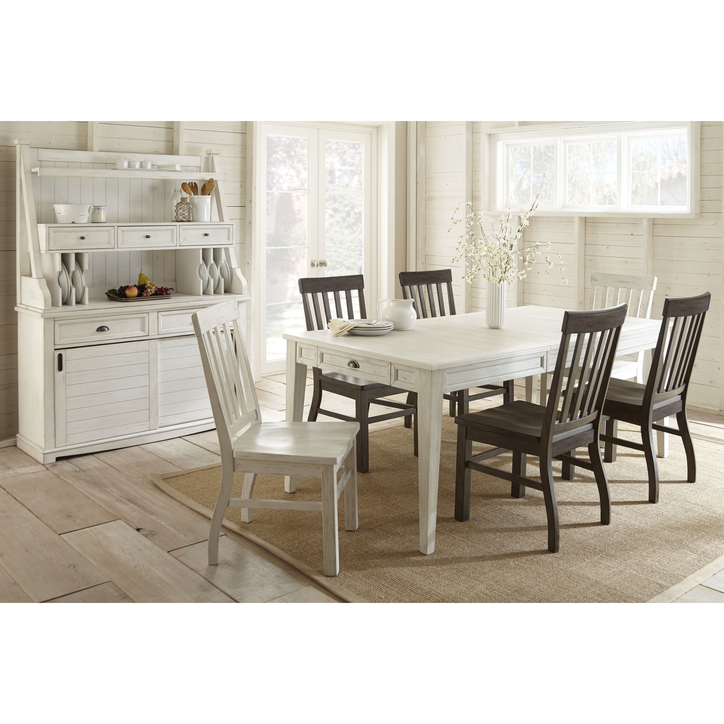 Cottonville Farmhouse Wood Dining Set by Greyson Living (...