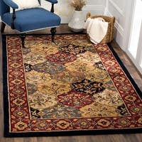 Safavieh Handmade Heritage Traditional Bakhtiari Multi/ Navy Wool Rug - multi - 6' x 9'