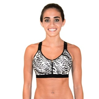 RBX Zip Front Adjustable Sports Bra Bra