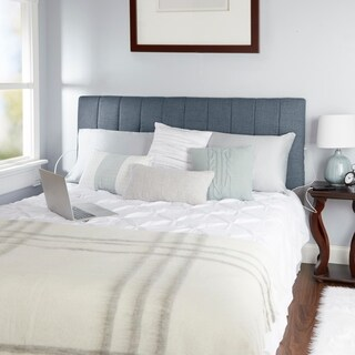 Delilah Channel Tufted Powered Headboard, Queen (3 options available)