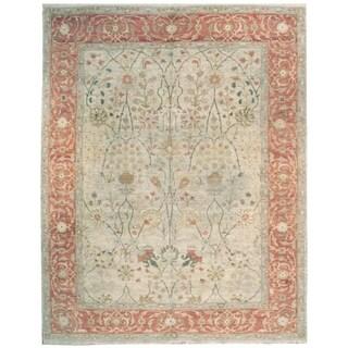 Handknotted Designer Wool Zeigler Rug (8' x 10'5'') - 8' x 10'5''