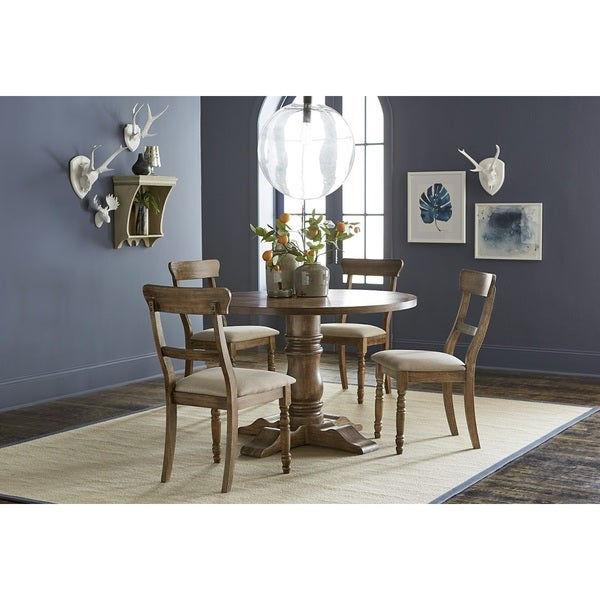 Muse Driftwood Complete Dining Table - Free Shipping Today ...