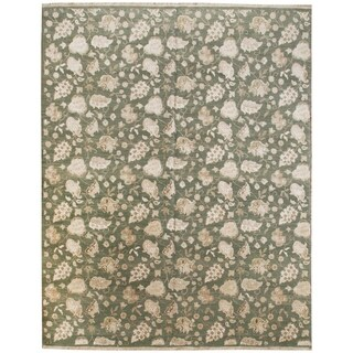 Wool and Silk Modern Rug - 8'2'' x 10'3''