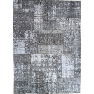 Wool Patchwork Rug - 6' x 10'7''