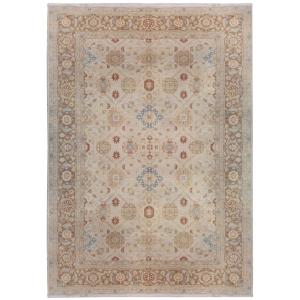 Shop Wool Zeigler Rug 10 X 14 Free Shipping Today Overstock