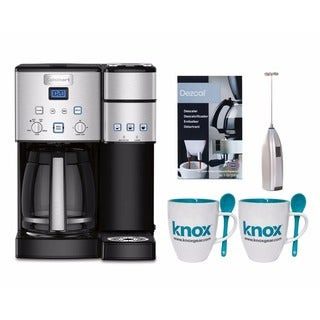 Cuisinart SS15 Premium Single Serve Coffeemaker + Knox Mugs + Frother + Descaler